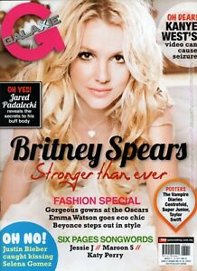 GALAXY 2011 MALAYSIA Entertainment Magazine BRITNEY SPEARS COVER NEW