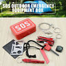 Outdoor Camping Hiking Survival Emergency Gear Tools Box Kit Set for SOS Help