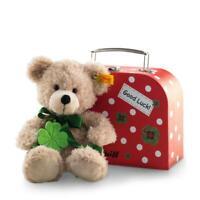Steiff 114007 Fynn Teddybär im Koffer - 24cm -   NEU! - OVP!