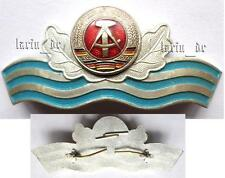 DDR East german hat badge Water and Irrigation Work in the GDR ,for visor hat