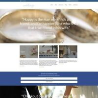 Fully Stocked Dropshipping WEDDING PRODUCTS Website Business For Sale + Domain