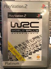 WORLD RALLY CHAMPIONSHIP PLAYSTATION 2 PS2 + booklet.