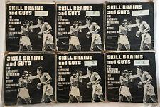 "V. RARE Vintage Muhammed Ali ""Skill Brains & Guts"" Super 8 8mm Cine Film 6 Reels"