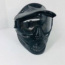 Jt Paintball Mask With Visor And Goggles Adult Black (P)