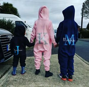 Personalised Glitter Custom Name & Initials Bodysuit (kids, baby, toddler, gift)