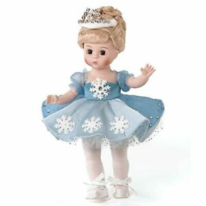 "Madame Alexander # 69920 Frosty Ballerina 8"" Doll - New in Box - Retired"