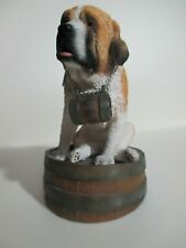 "St. Bernard Figurine by ""My Dog"""