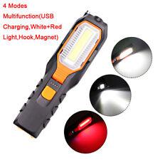 COB LED Worklight Magnetic Flexible Inspection Work Light Flashlight Lamp Torch