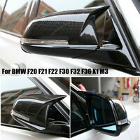Carbon Fiber Rear View Side Mirror Cover CAPS FOR BMW F20 F21 F22 F30 F32 F36 X1