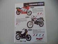 advertising Pubblicità 1991 MOTO MALAGUTI RST SPECIAL 50/ENDURO MRX/FIFTY TOP