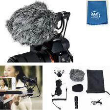 Yongnuo YN220 Microphone Caméscope Vidéo Micro 3.5mm Pare-Brise Canon Nikon