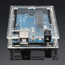 1PCS Clear Acrylic Case Enclosure Computer Box For Arduino UNO R3 Unassembled