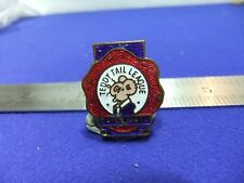 vtg badge teddy tail league daily mail childrens club 1920s 30s roden