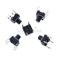 50PCS 6X6X7mm 4-Pin DIP Tactile Push Button Switch Tact Switch