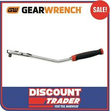 GEARWRENCH 3/8″ Square Drive Cushion Grip Offset Flex Handle 84 Tooth Ratchet