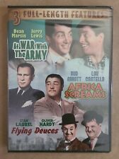 Triple Feature DVD - At War With The Army, Africa Screams, Flying Deuces