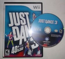 Just Dance 3 (Nintendo Wii, 2011) **DISC & REPLACEMENT CASE**