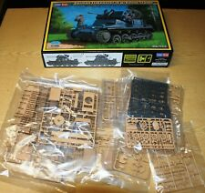 CHAR Pz. I A Flakpanzer avec remorque en 1/35 de Hobbyboss