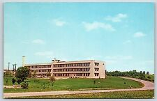 Washington County Memorial Hospital Salem, Indiana Chrome Postcard Unused