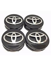 "4 pcs, Toyota, Wheel Center, Hub Cap, Black 62 MM, 2.44"", Camry, Corolla, Avalon"