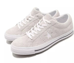 Converse One Star Ox Vintage White Low Suede Men's Size 6 Women's Size 8 161577C