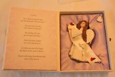 """Angel Decoration Boxed """"Love"""" Boxed Says Someone Special NEW"""