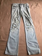 D & G Dolce Gabanna Designer stone washed ripped Jeans EU 42