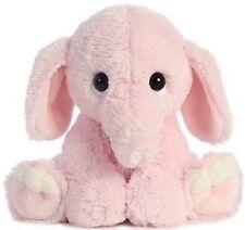 Plush Elephant pink soft Cute adorable gift toy Cuddly stuffed animal Big teddy