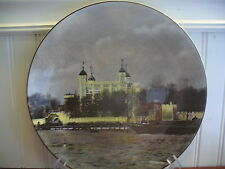 Royal Doulton England English Translucent China The Tower of London Plate