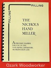 NICHOLS What Can Be Done on a Miller Handbook/Manual 0491