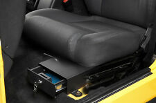 Bestop Under Seat Locking Storage Security Box in Black 42641-01