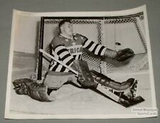 AHL 57-58 Rochester Americans Gerry McNeil Hockey Photo