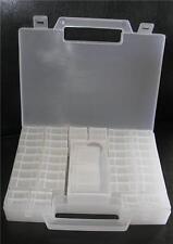 NIP Findings Bead Jewelry Storage Case Organizer Sorting-55 pieces tweezers