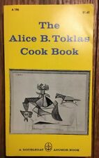 RARE Vintage 1960 ~ The Alice B. Toklas Cook Book ~ Picasso Cover Art ~Paperback