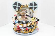 Disney Snow globe THROUGH THE YEARS Mickey Mouse