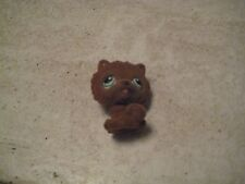 Littlest Pet Shop~#332~Chow Chow~Puppy Dog~Brown Fuzzy~Green Eyes