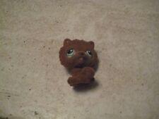 Littlest Pet Shop~#332~Chow Chow~Puppy Dog~Brown Fuzzy~Green Eyes