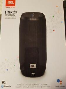 JBL Link 20 Bluetooth Lautsprecher mit Sprachsteuerung Akku Soundbox, OVP,Neu