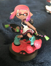 Splatoon 2 Pink Inkling Girl Amiibo Nintendo Switch - Pre-Owned