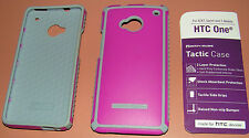 Body Glove Tactic case HTC One M7, Magenta/Gray, matte finish, one piece snap on