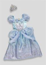 NEW Girls Disney Princess Cinderella Fancy Dress Up Costume