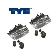NEW Volkswagen Jetta Pair Set of Left and Righ Headlights Assembly TYC