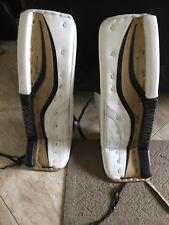 Ice hockey goalie pads