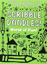 SCRIBBLE DOODLES - WORLD OF FUN, N/A   Paperback Book   Very Good   978184958164