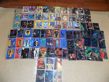 1993 TOPPS, BATMAN THE ANIMATED SERIES, 100 TRADING CARDS SET WITH EXTRAS