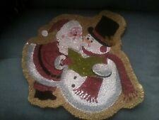 Christmas Door Floor Mat Festive Welcome Doormat Xmas Home Coir Matting