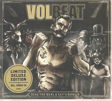 "VOLBEAT ""Seal The Deal & Let's Boogie"" Deluxe Limited Edition 2 CD sealed"