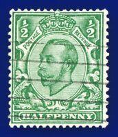 1912 SG344 ½d Green (Die-2, wmk SC) N5(1) Good Used antj