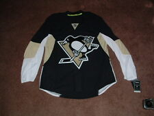 PITTSBURGH PENGUINS 2012-16 BLACK AUTHENTIC HOCKEY JERSEY sz 50 NWT