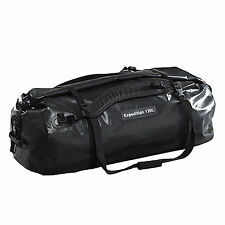 Caribee Expedition 120LT Duffel Waterproof Roll Kit Bag BLACK